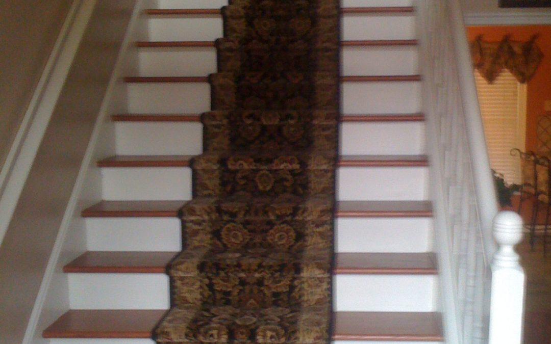 Collierville, TN Stair Runner Install