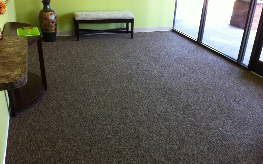 Cordova Commercial Carpet Install