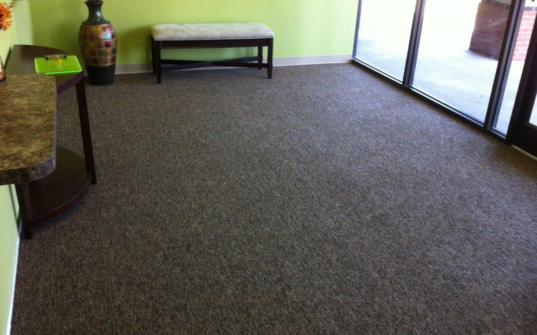 Cordova Commercial Carpet Install